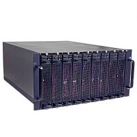 Серверный корпус 5U NR-N5B9, на 9 mini-ITX ПК, глубина 650мм, Negorack